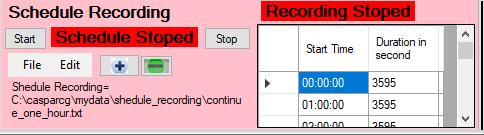 Shedule_recording
